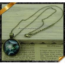 Joyería caliente de los accesorios del collar del bronce de la vendimia de la venta caliente (fn046)