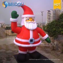Décoration de Noël Giant gonflable Santa Christmas Santa papa gonflable