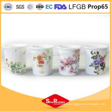 Keramik kundenspezifische kerzenhalter keramische kerze kerzenhalter