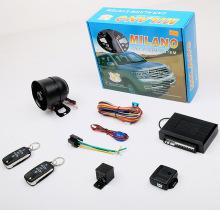 ミラノの車の警報システム
