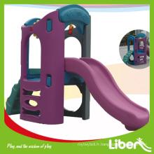 China Cheap Kids Indoor Playgrounds Toy Plastic Slides Qualité Assurée