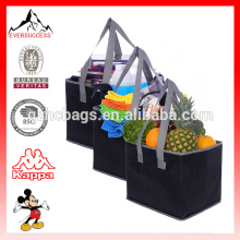 Large Capacity Collapsible Shopping Box Bag Set with Reinforced Bottom