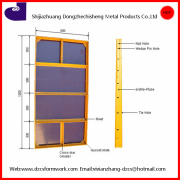 construction paint plywood steel frame panel metal formwork