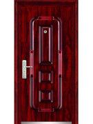 Броневой стали деревянные двери