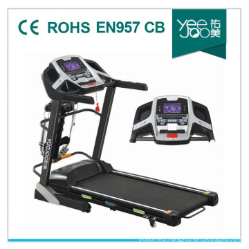 2014 Hot with PMMA Panel, Double Layer for Home Use Motorized Treadmill