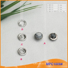 Pearl Cap Fünf Paw Snap Button MPC1008