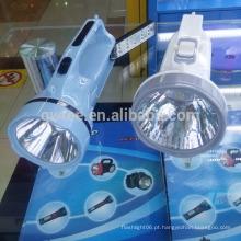 Alta potência portátil recarregável de longo alcance LED caça searchlight tocha