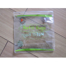 Personalizado impressão PVC Zip Lock Bag (hbpv-65)