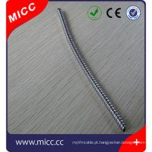 Acessórios para tubos corrugados de termopar