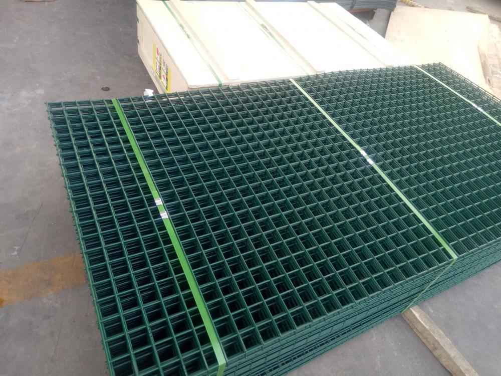 PVC Coated Green Fencing Panels