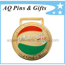 Courmet Medal with Soft Enamel Color