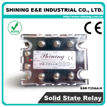 SSR-T25AA-H Heat Sink Electrical 24V AC/AC 25A Three Phase Relay