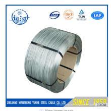 El alambre galvanizado caliente de la INMERSIÓN para el cable de blindaje de la fábrica de Chiese