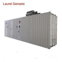 400kw 60Hz Звукоизолированный контейнерный генератор с водяным охлаждением 6 цилиндров