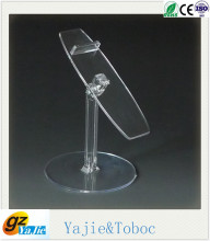 acrylic food display stand shoe display stands metal