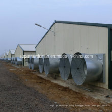 Prefabricated Chicken House with Poultry Equipment