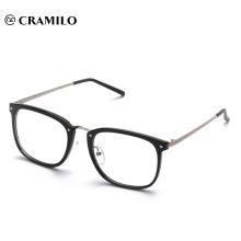 Marco de gafas de lectura de metal óptico