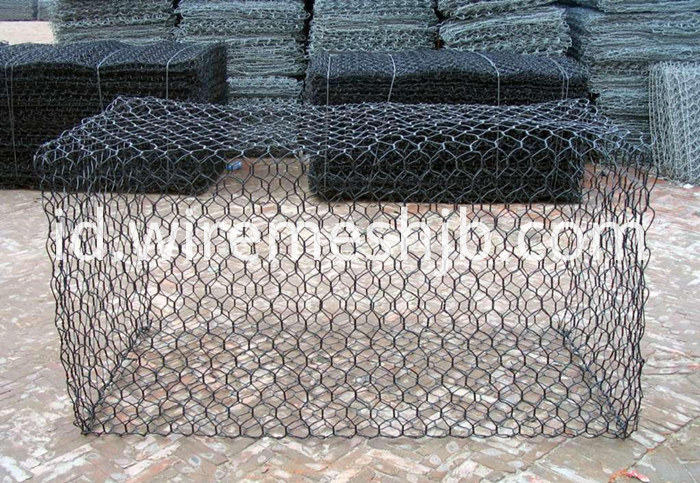 Vinyl Coated Gabion Basket