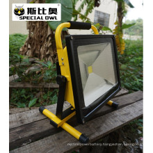 50W COB Super Bright LED Flood Light, Work Light, Rechargeable, Outdoor Portable, Flood/Project Lamp, IP67