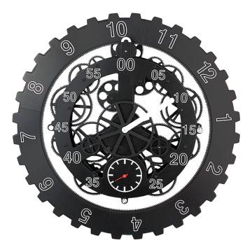 Reloj de pared Cool Back Gear de 18 pulgadas