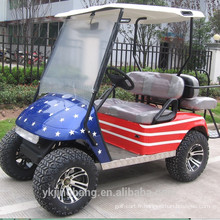 Chariot de golf électrique de 4 places (2 + 2) 3000W