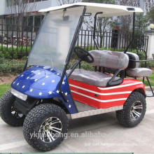 Four Wheel Drive 4400W 4 seater Golf Cart
