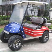 Carro de golfe elétrico de 2 lugares (2 + 2)