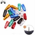 6 Colors Available Fits fixed gear Bikes Tire Valve Cap