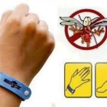 Bracelet ajustable 100% anti-moustiques à la citronnelle