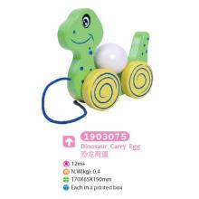 Деревянная игрушка для детей из динозавра