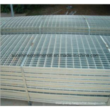 Hot Dipped Galvanized Serrated or Plain Floor Platform Steel Grilles
