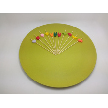 Bunte natürliche Bambus Fruchtspieß / Stick / Pick (BC-BS1004)