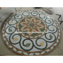 Stone Mosaic Marble Mosaic Pattern Floor Tile (ST116)