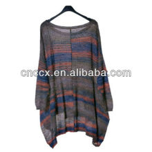 13STC5004 ponchos dolman manches pull femme pull