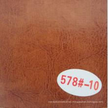Hongjiu Popular Embossing Craze Horse PVC Synthetic Leather