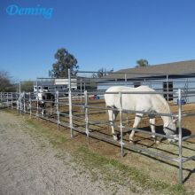 Hot dip galvanized metal horse fence