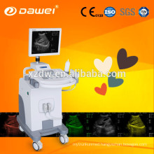 CE & ISO trolley ultrasound for pregnancy & mobile ultrasound scanner price made in China hot sale