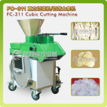 FC-311 Stainless Steel Lutos, Cheese, Taro Horizontal Type Vegetable Cutting Machine