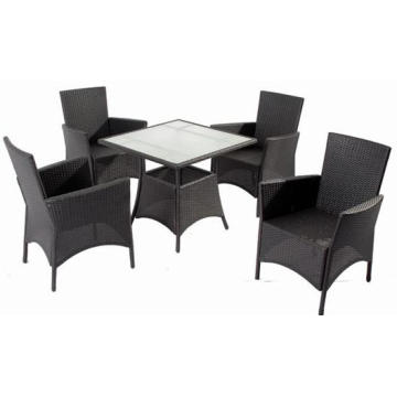 Classic Knock Down Outdoor Rattan Dining Furniture