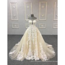 Vestido de novia elástico más nuevo Vestido de novia sexy con espalda descubierta Vestido De Novia España