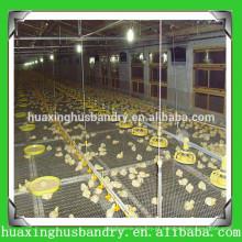 Sistema de elevação do piso de frangos de corte de economia de mão-de-obra e economia de custos