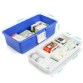 Medical portable plastic professional health care case
