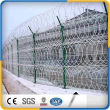 Günstigen Preis hochwertigen Rasierdraht Gefängnis Zaun