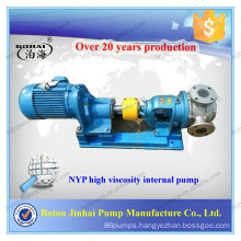 Internal gear oil pump from 3/4 inch to 4 inch made of rotary gear for oil transfer