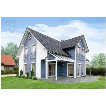 Fast Installation Light Steel Prefabricated Villa for Living