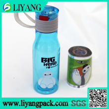 Big White, película de transferencia de calor para botella de agua de plástico