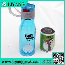 Big White, film de transfert de chaleur pour bouteille d'eau en plastique
