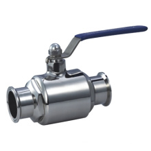 Vannes à bille sanitaire en acier inoxydable 304 et 316