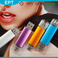 Cheap Colorful Plastic Lipstick Shaped OTG USB Flash Drive (TJ004)