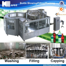 CO2 Beverage Packing Machine with Plastic Bottle